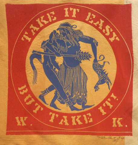 """Take It Easy But Take It"" by William Kent, (Amer., 1919-2012)"