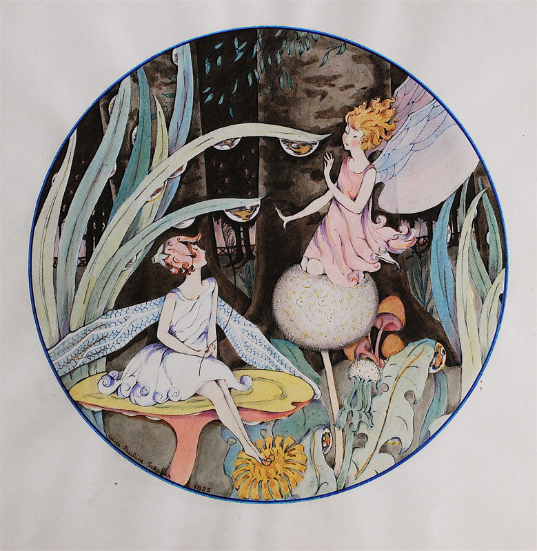 Alice Pauline Schafer Fairy Fish Globes