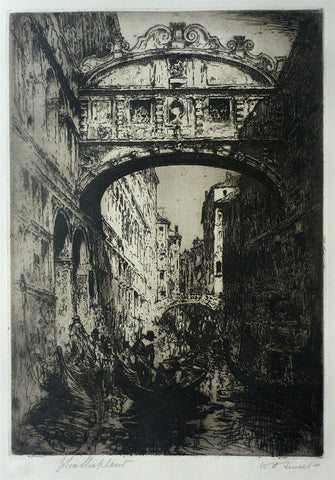 William H. Sweet Bridge of Sighs, Venice