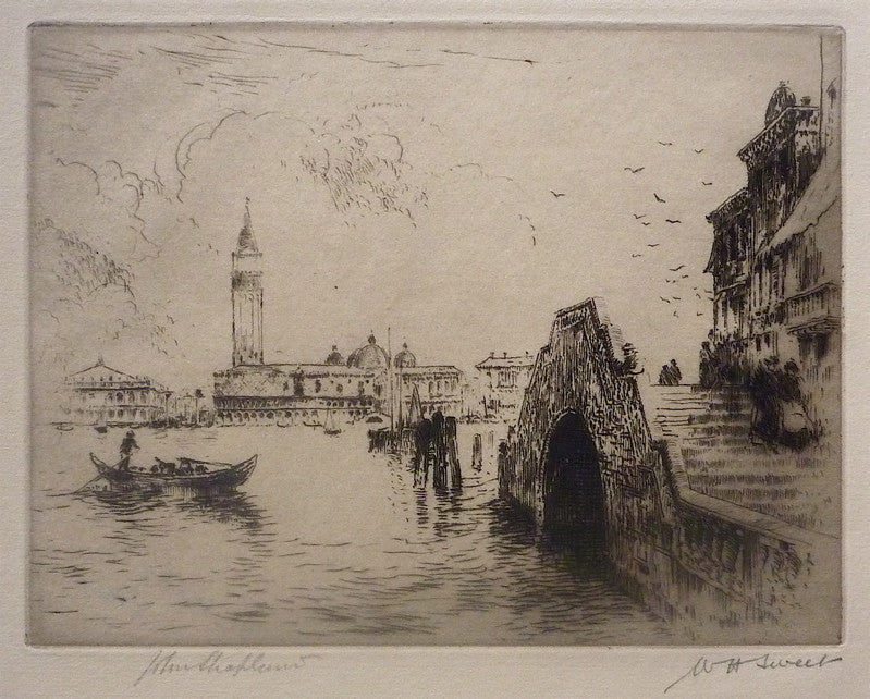 William H. Sweet View of Venice
