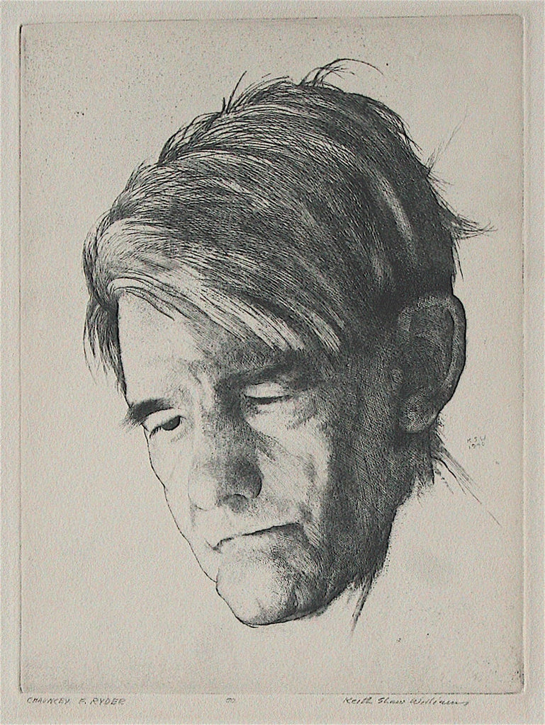 Keith Shaw Williams Portrait of Chauncey F. Ryder