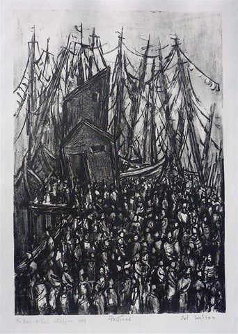 """Festival (Provincetown)"" by Sol Wilson, Amer., (1896-1974)"