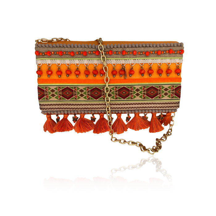 Sunset Sand Hand Made Clutch