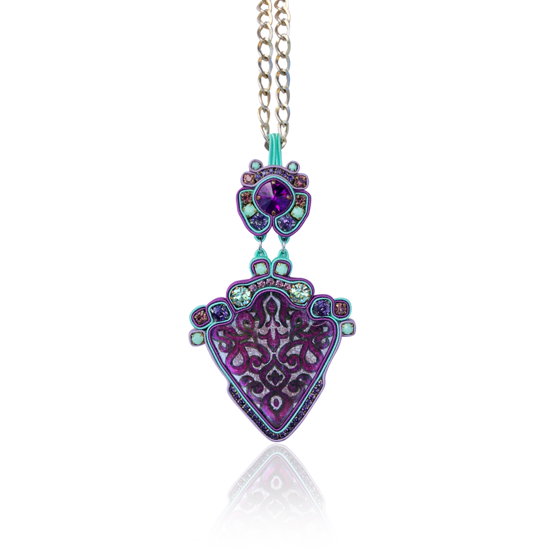 Acquella Purple Necklace