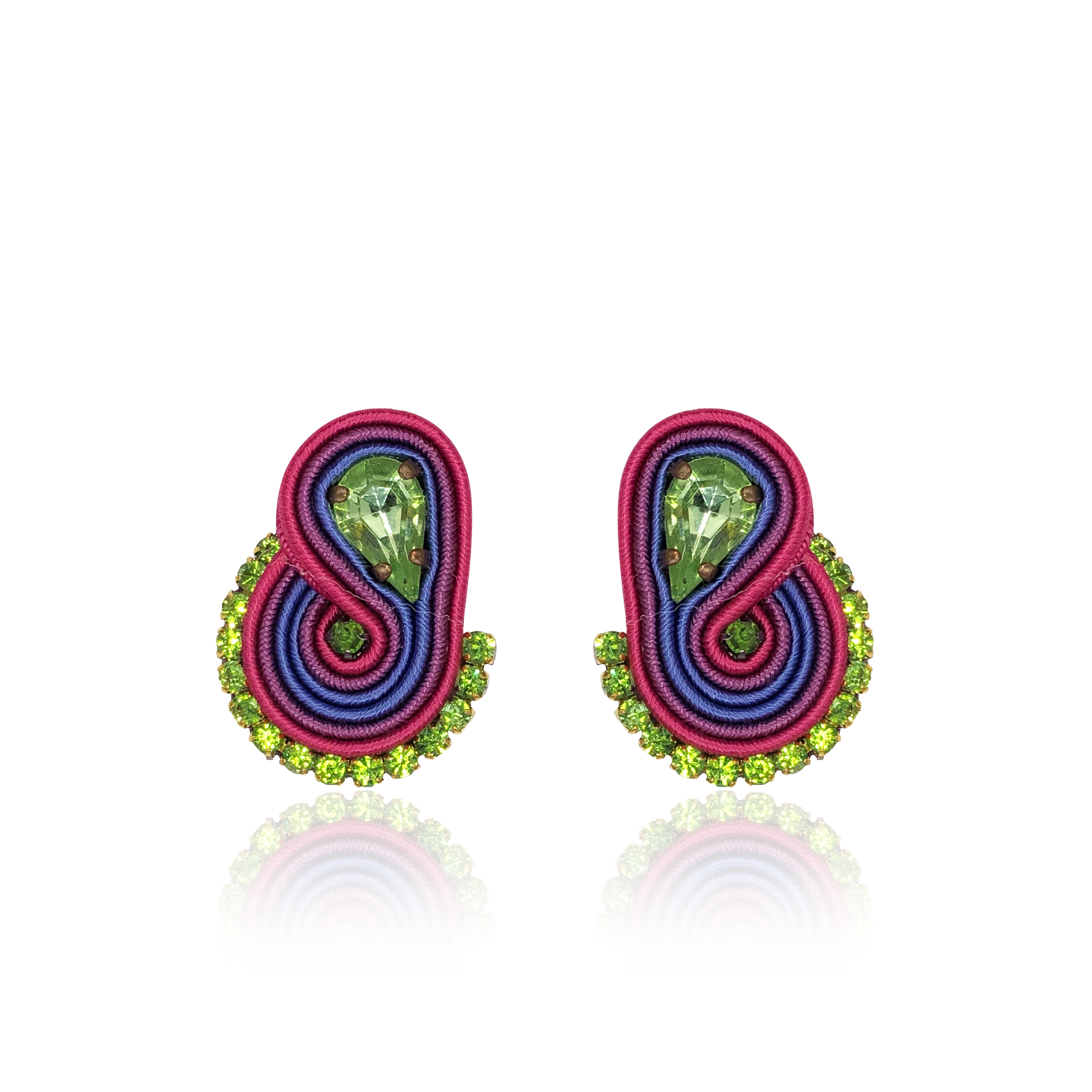Multicolor Mini Mamma Earrings