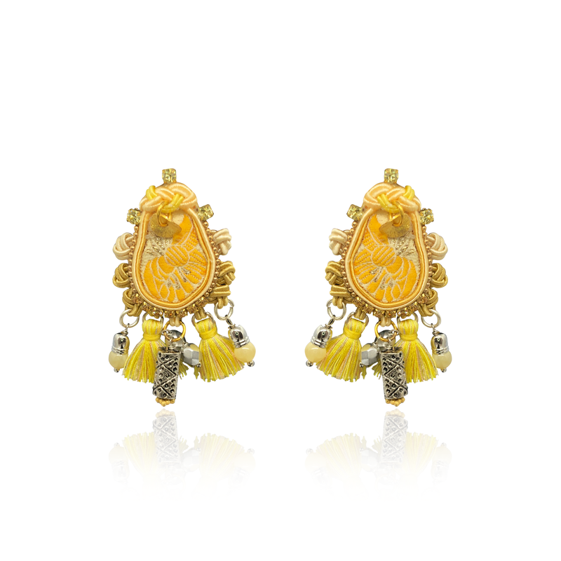 """Sunbathing in Ibiza"" mini One and Only Earrings"