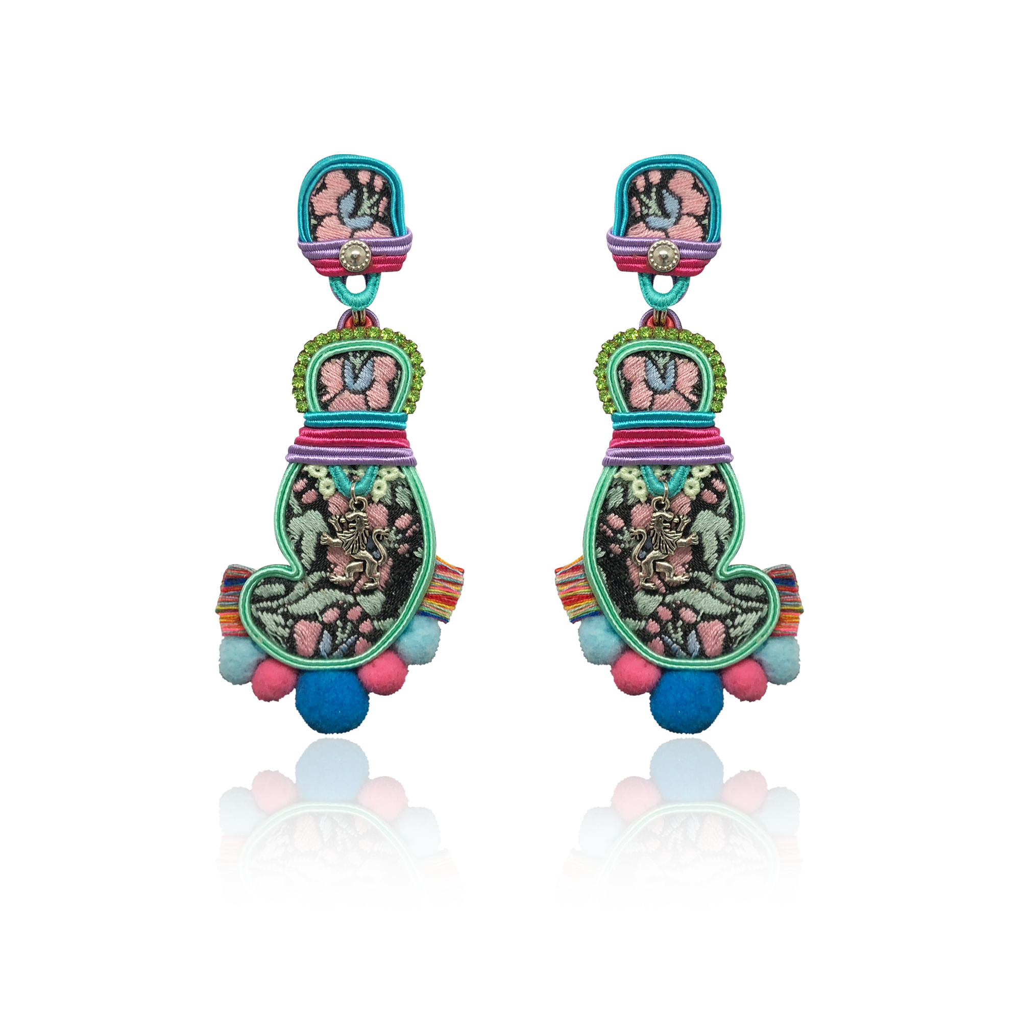 """Samba is the music of the soul"" One and Only Earrings"