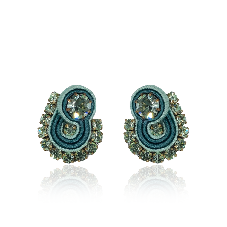Mint Mini Mamma Earrings