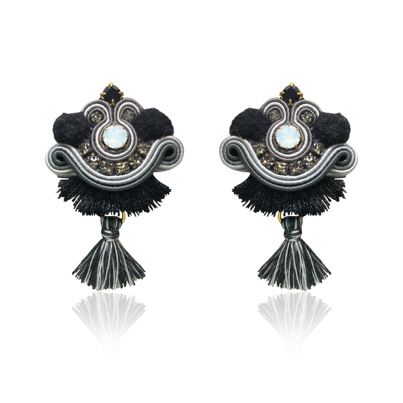 Night Mini Tiz Earrings