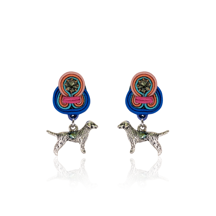 Doggie Mini Dije Earrings