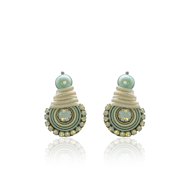 Light Mint Mini Dopo Earrings