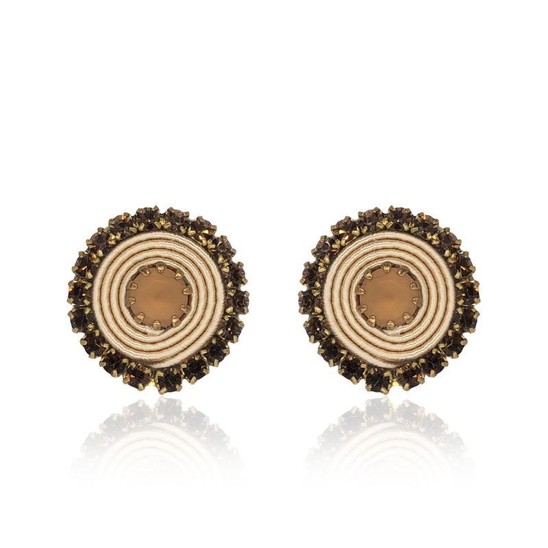 Beige Basic Earrings