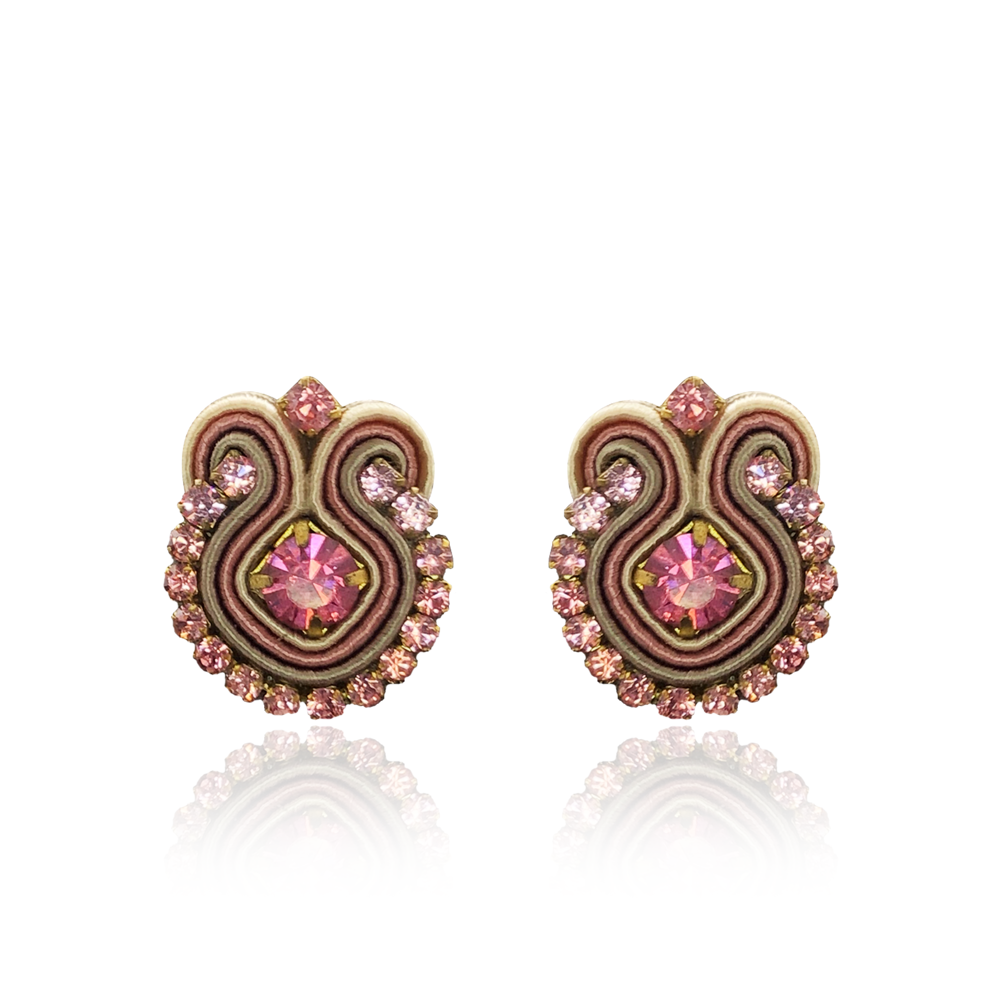 Pink Mini Acqua Earrings