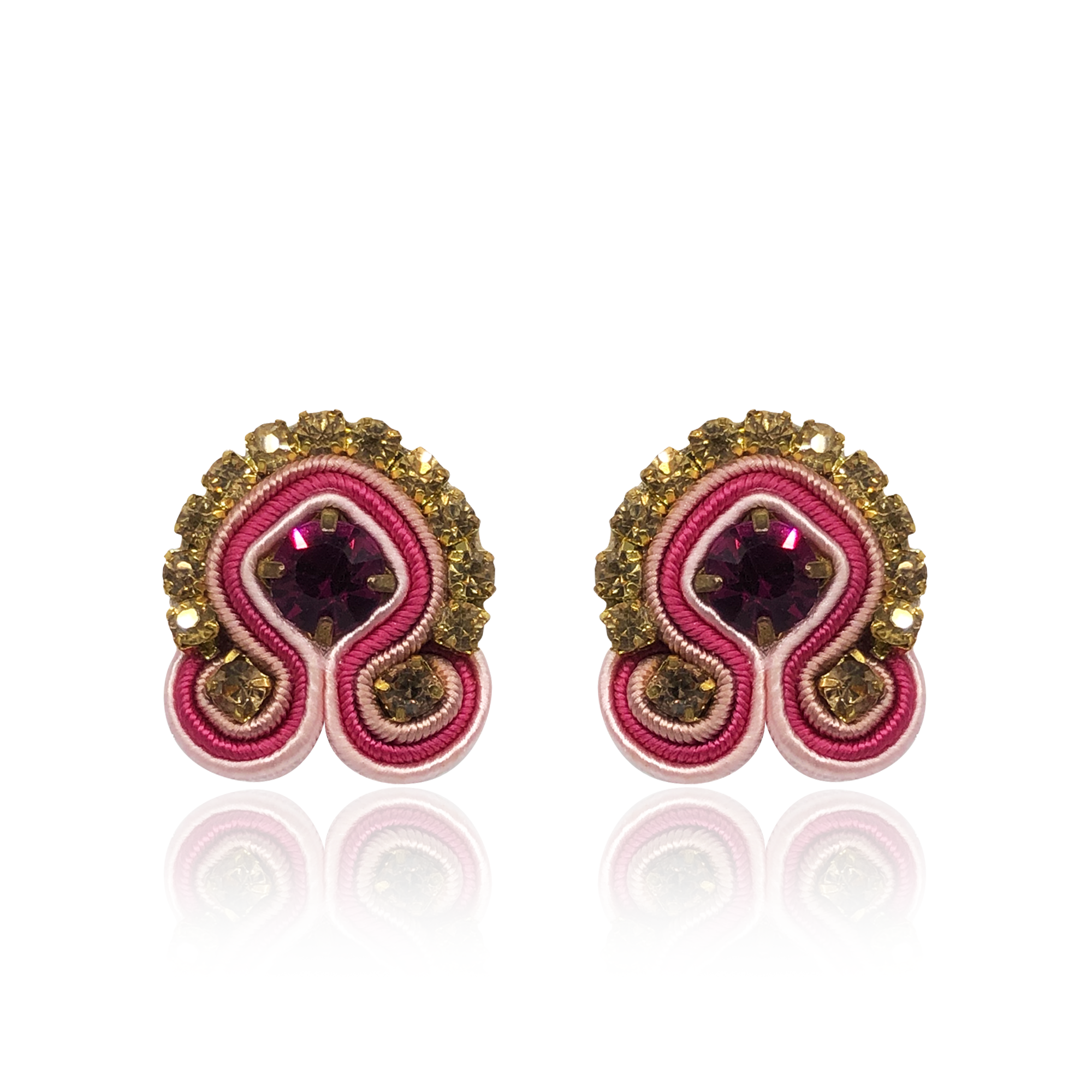Pomegranade Mini Acqua Earrings
