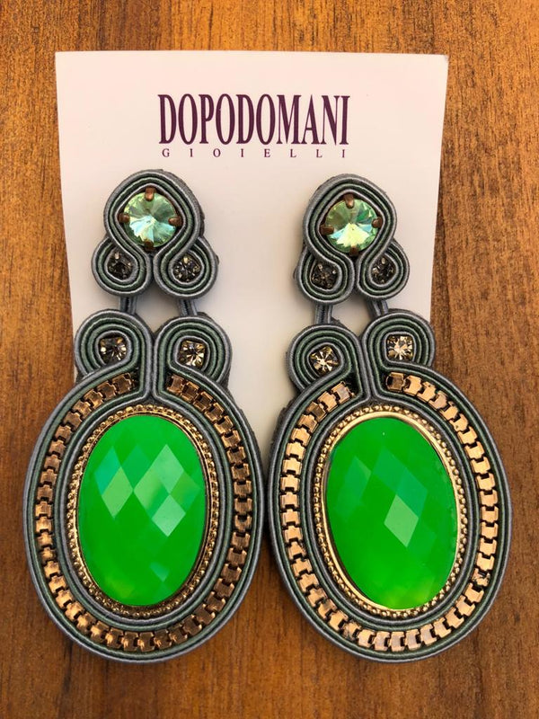 Green Fluo Earrings