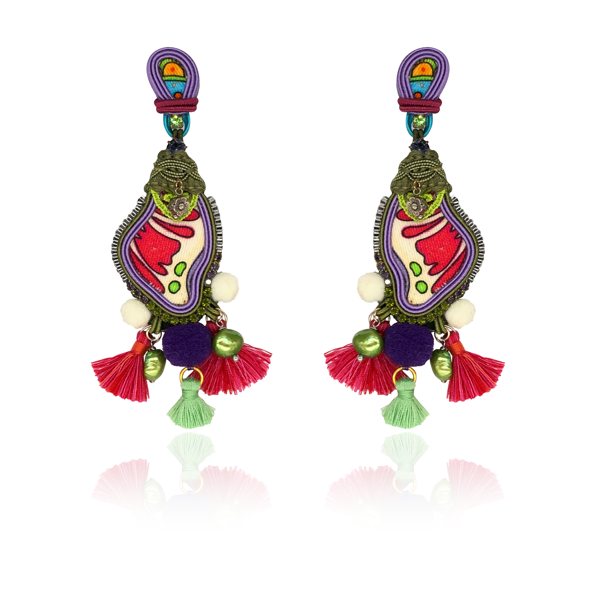 """There's a dancin Toucan"" One and Only Earrings"