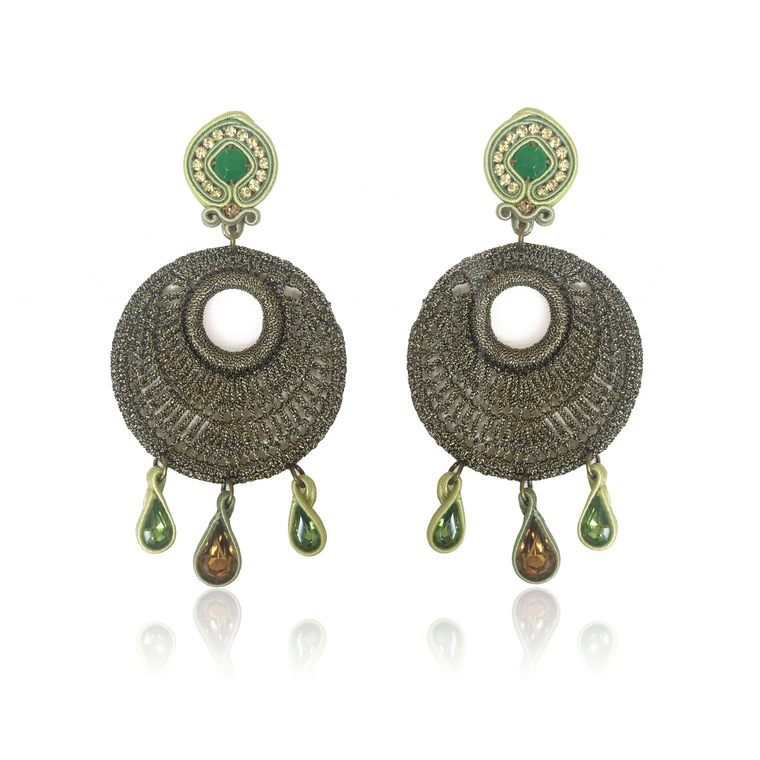 Dopodomani Mare Medio Mandala Earrings