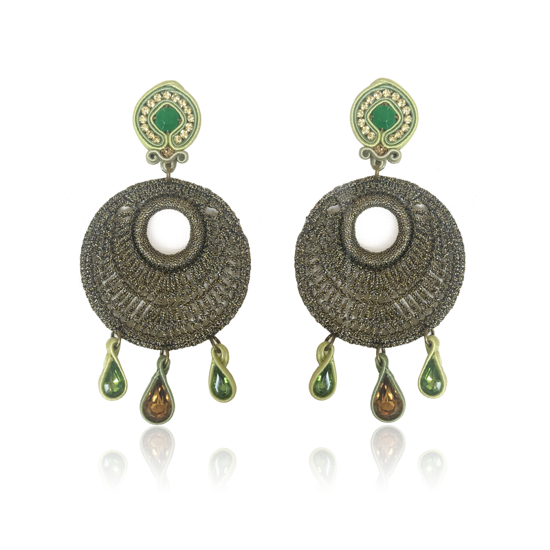Mandala Medio Mare Earrings
