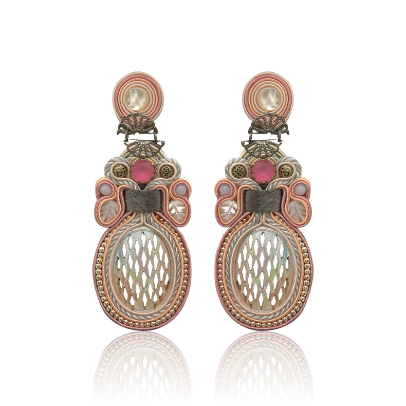 Tramonto Rosé Earrings
