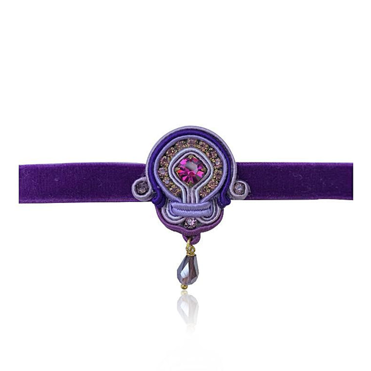 Purple Petit Choker