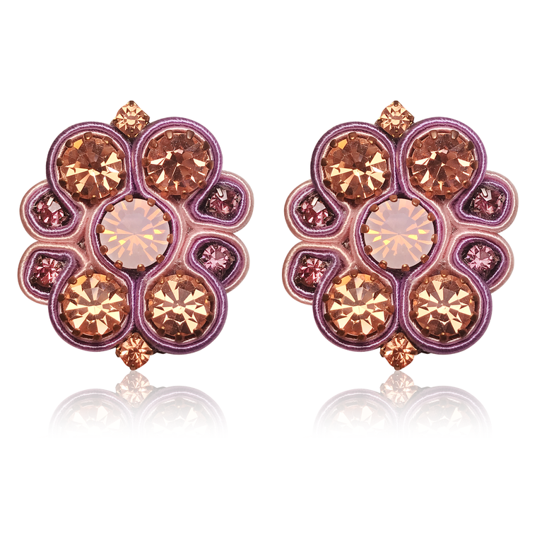 Aurora Lila Earrings
