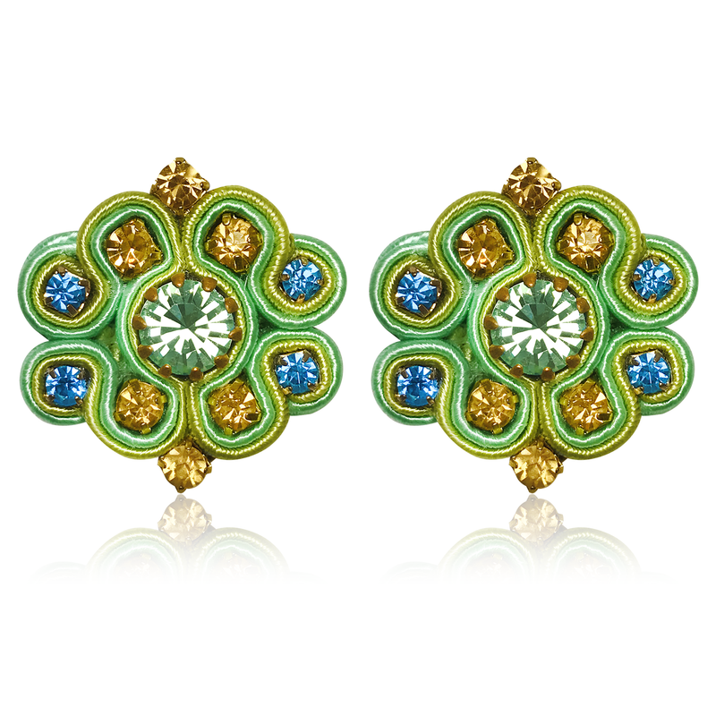 Aurora Menta Earrings