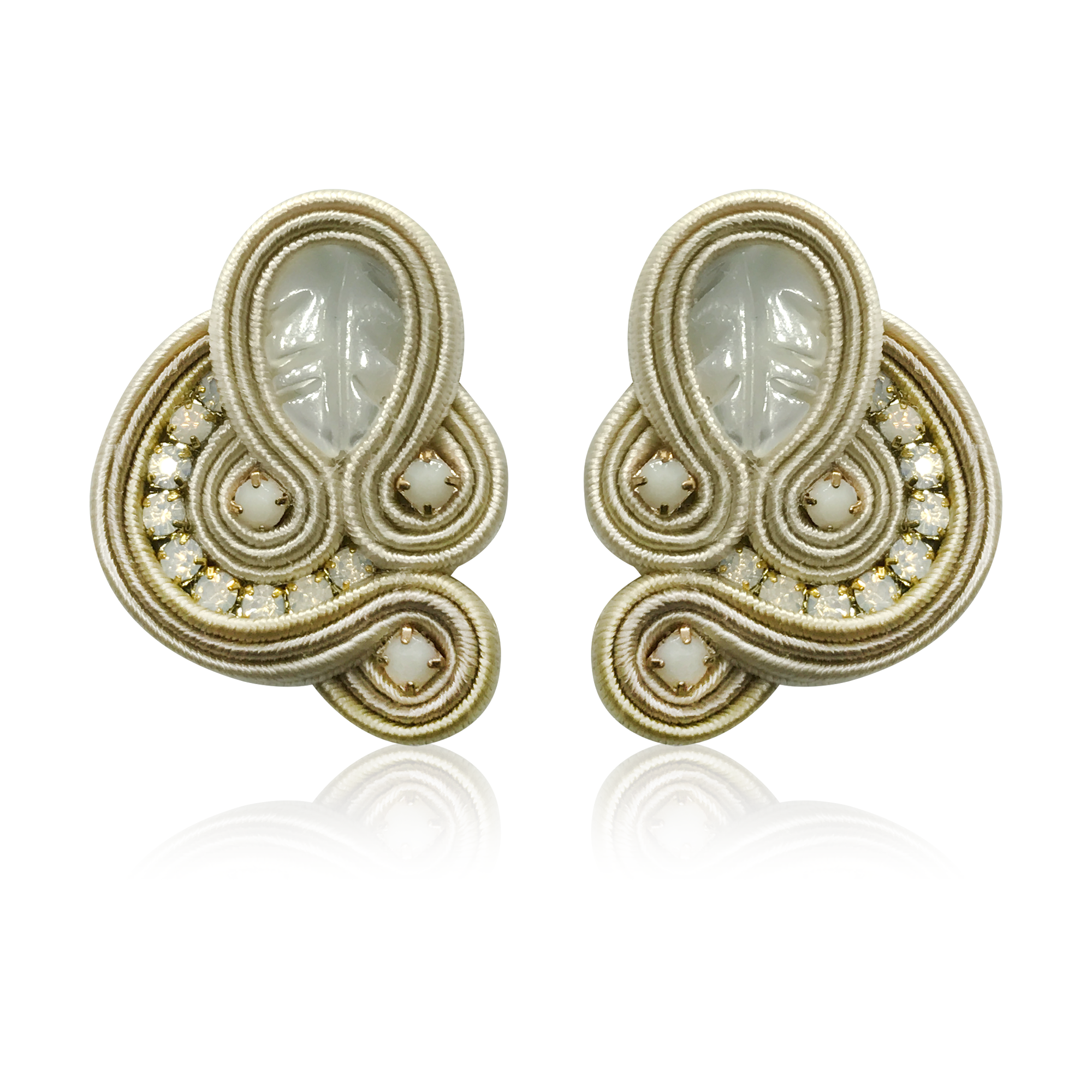 Donna Beige Earrings