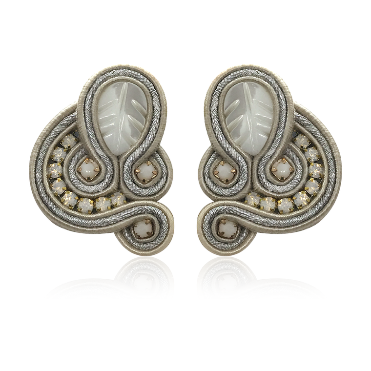 Donna Silver Earrings