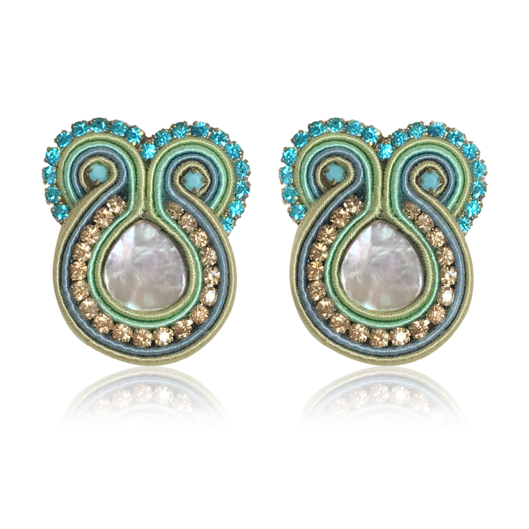 Iris Zecca Earrings