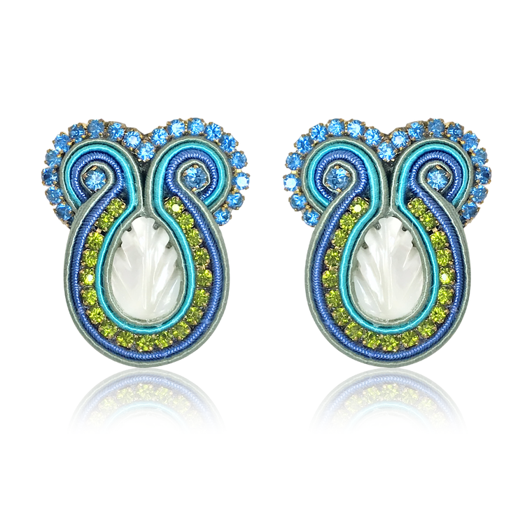 Iris Cielo Earrings