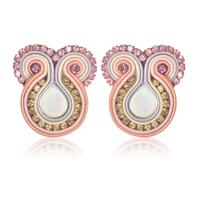 Iris Rosé Earrings