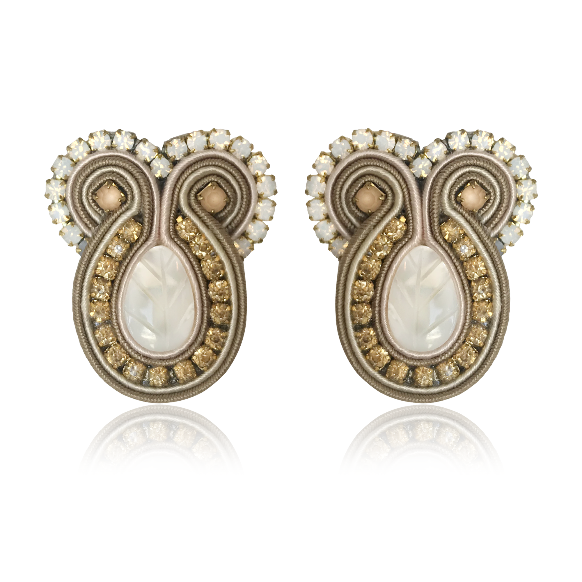 Iris Prosecco Earrings