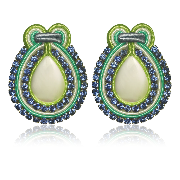 Marte Menta Earrings