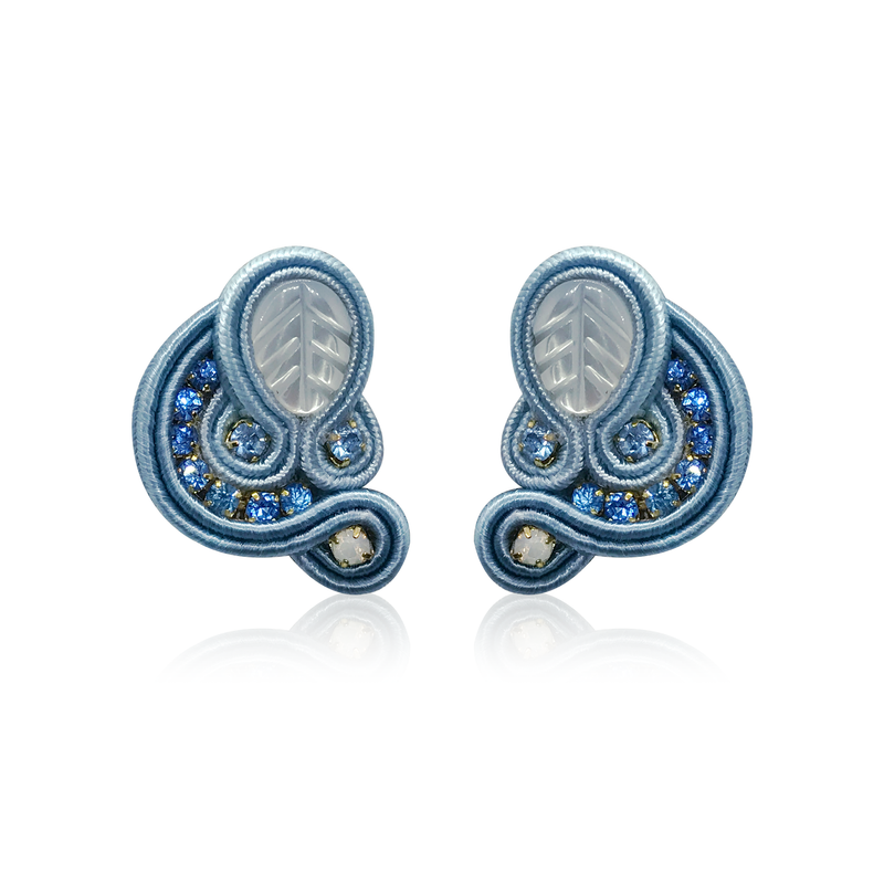 Dopodomani Baby Blue Mini Donna Earrings