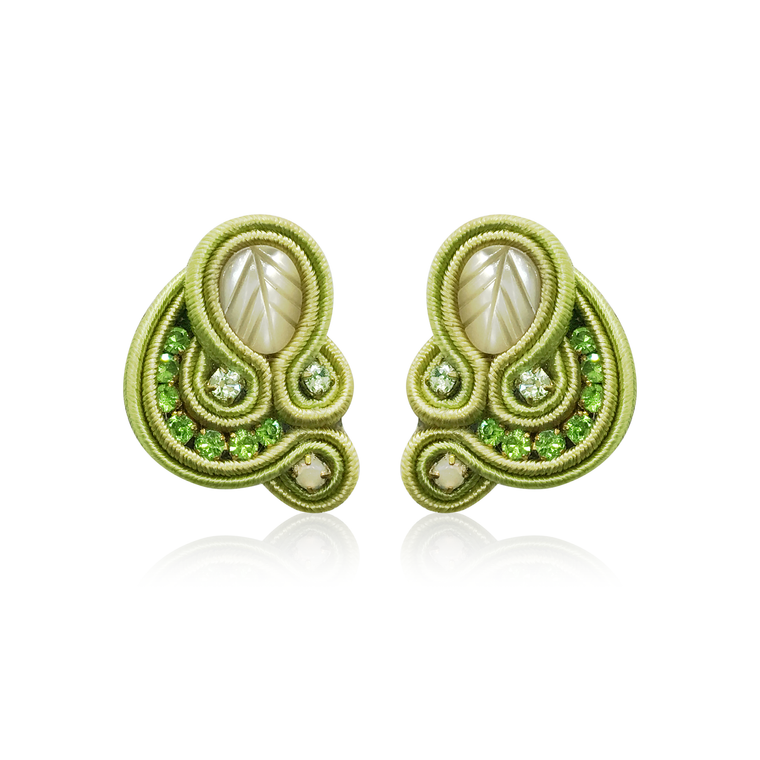 Dopodomani Green Apple Mini Donna Earrings