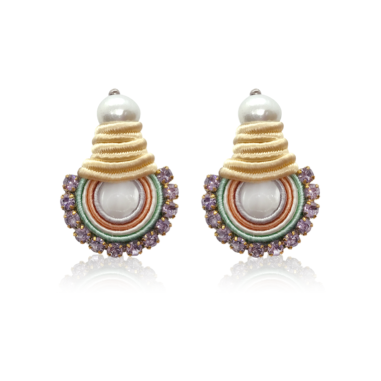 Mini NaKar Lila Earrings