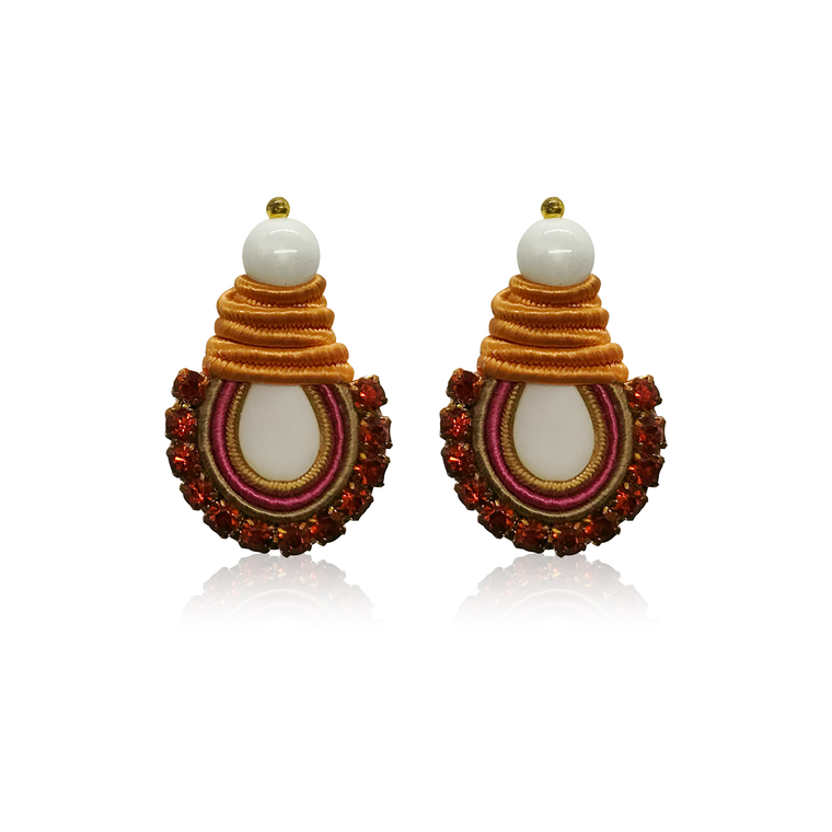 Mini Nakar Fire Earrings