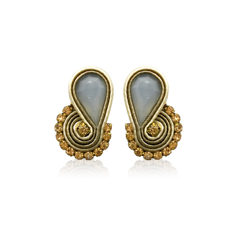 Dopodomani Gold Mini Mamma Earrings