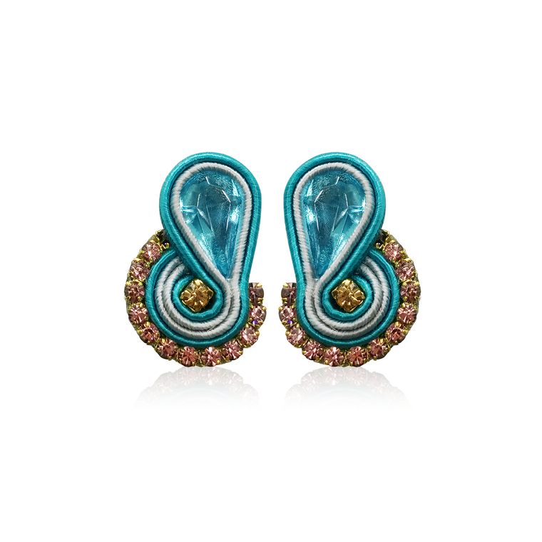 Dopodomani Turquoise Mini Mamma Earrings