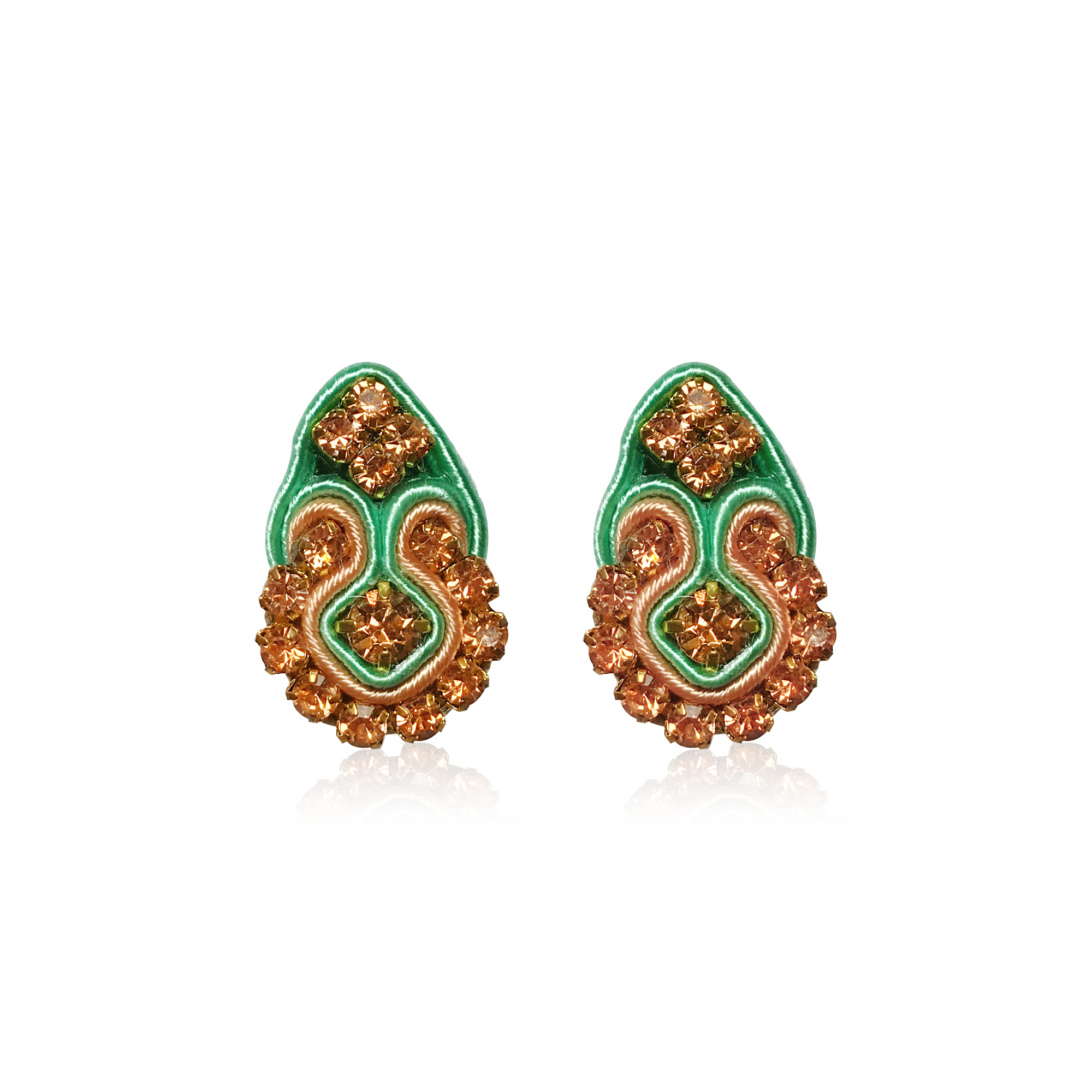 Mini Fiore Melon Earrings