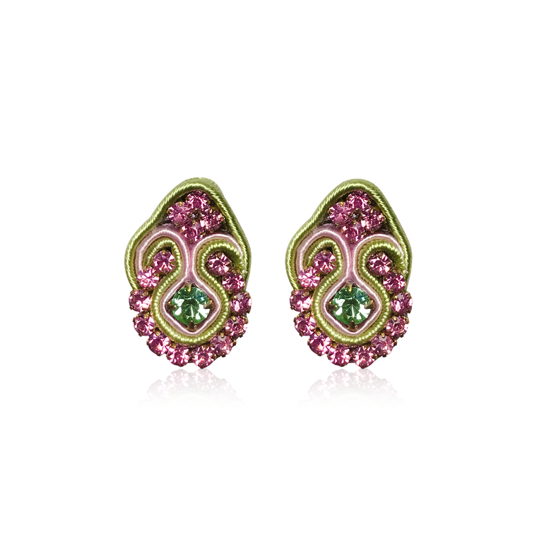 Dopodomani Pastel Mini Fiore Earrings