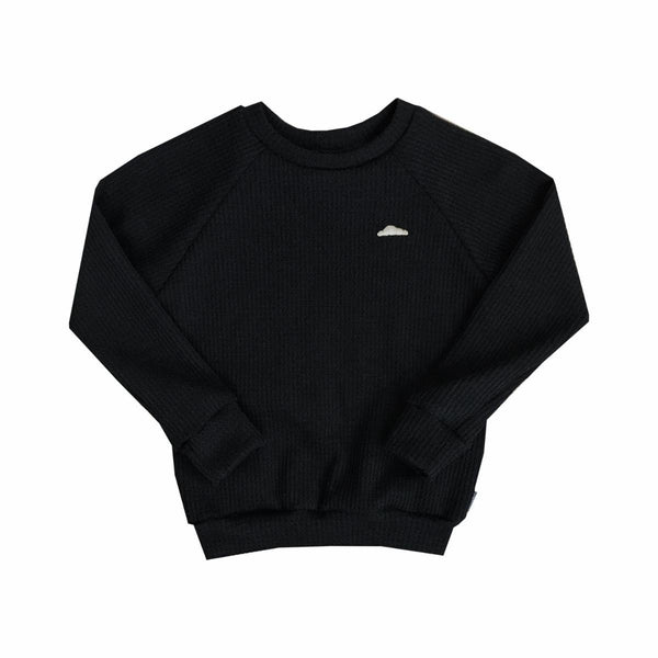 Pour Some Sugar On Me Waffle Knit Crew (1812916600893)