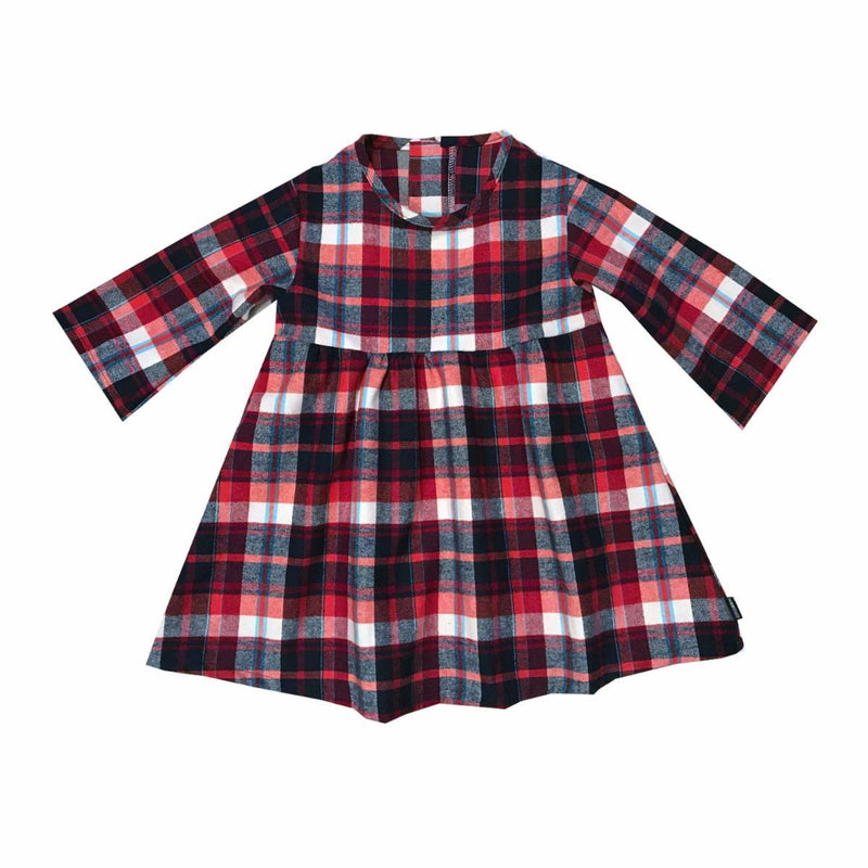 Smells Like Teen Spirit Plaid Skater Dress (1812916437053)