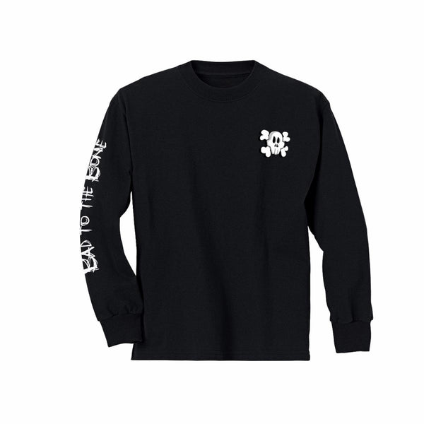 Bad to the Bone Long Sleeve Skater Tee (1812925546557)