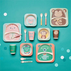 Eco-Friendly Kids' Dinnerware Set