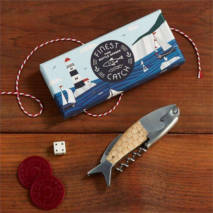 fish bottle opener dad gift