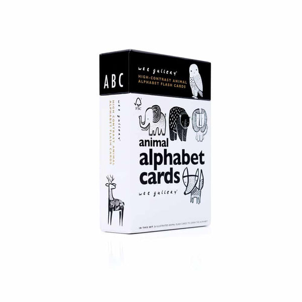 high contrast alphabet cards (683090870333)