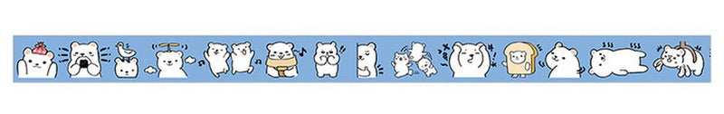 Blue Bear Washi Tape (4364817825853)