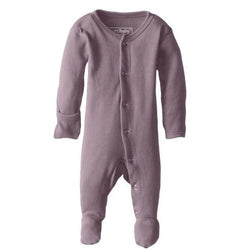 Organic Cotton (GOTS) Organic Footed Overall | Lavender (4355195076669)
