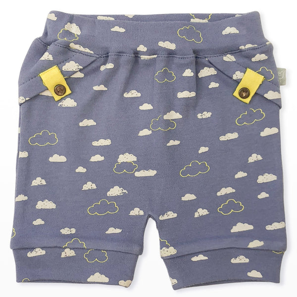 Pull-Up Shorts in Cloudy Sky (1423954018365)